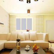 温馨型客厅装修设计