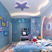 清新色调儿童房设计