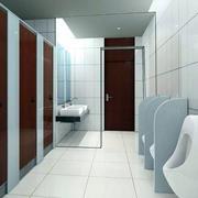 清爽干净厕所设计图片