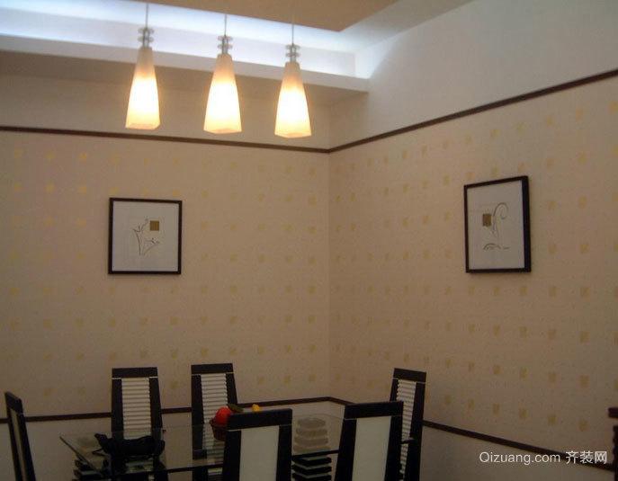 漂亮环保的别墅液体壁纸装修效果图