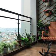 田园风格阳台装修设计