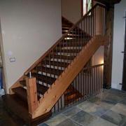 木质阁楼楼梯装修