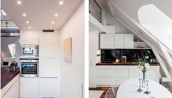 经典大户型宜家风格走廊吊顶装修效果图