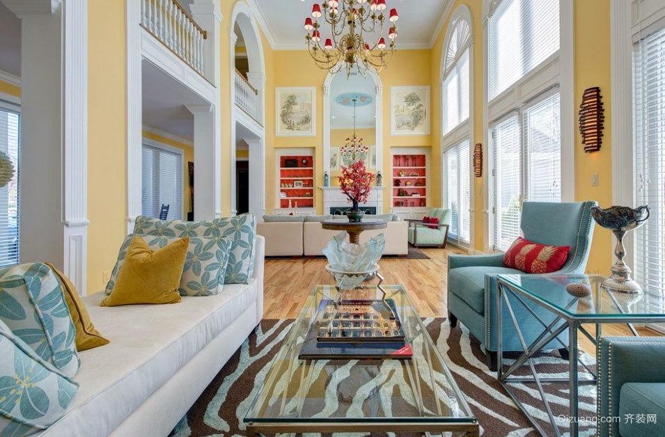 大气奢华 宜家风格客厅装修效果图大全
