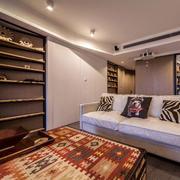 两室一厅地毯装修图片