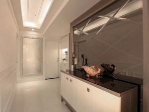 经典的才是永恒的:欧式新古典三室一厅家居装修效果图