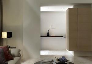 现代设计手法柔和古典元素的大户型复式楼别墅装修效果图