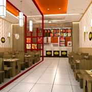 传统风格快餐店装修