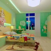 清爽型儿童房间设计