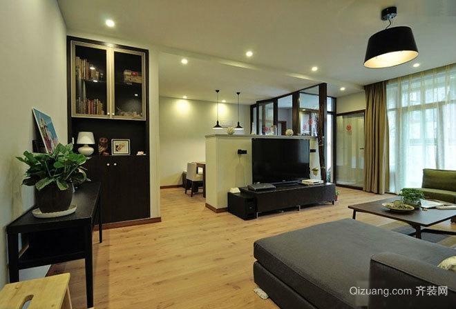 老房新改造 简约舒适开放格局的公寓设计