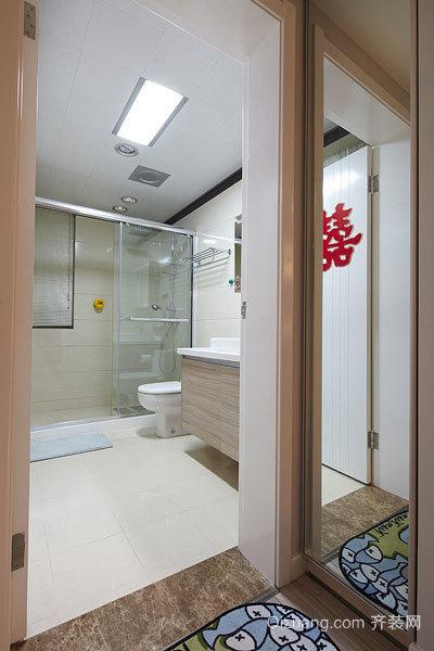 20万打造的140平米雅士白大理石装修的现代简约婚房设计