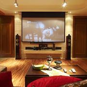 别墅电视墙设计图片