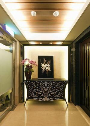 回家的诱惑:150平米奢华时尚三室两厅两卫家居装修效果图