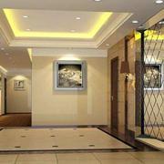 暖色调电梯装修设计