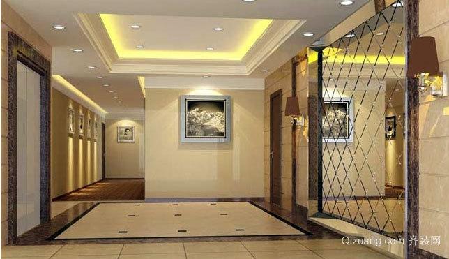 腿的福音:电梯装潢艺术设计装修效果图