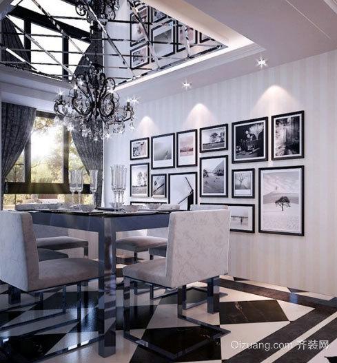 气氛和谐 时尚餐厅吊顶效果图