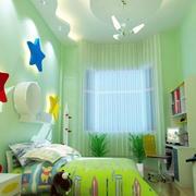 色彩艳丽儿童房间设计