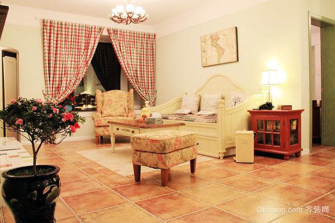 乡居岁月地中海异域特色甜蜜浪漫的婚房装修