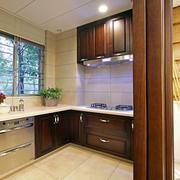 清爽系列开放式厨房装修