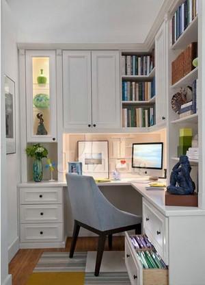 使人静心读书的小书房装修效果图
