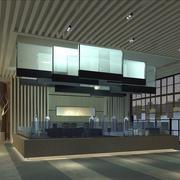大气风格展厅装修图片