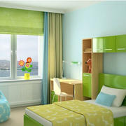 儿童房间飘窗设计