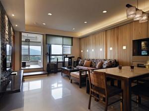 160平米体现和式之美的日式风格自建别墅装修效果图