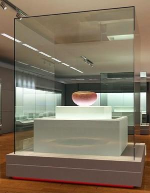博物馆展厅展柜装修设计效果图