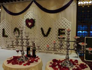 开开心心结婚:典雅浪漫婚庆策划布置效果图鉴赏