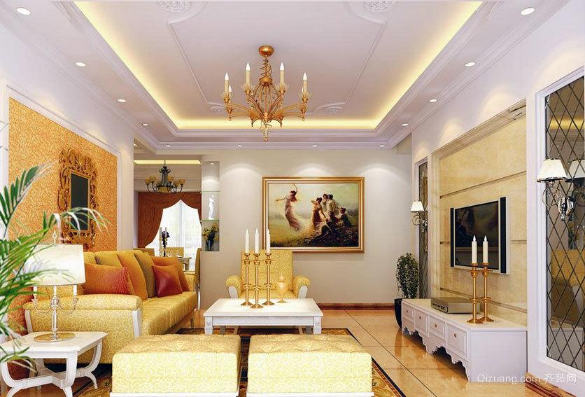 现代装修的典范:经典小户型室内装修设计实例