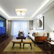 清爽型客厅设计效果图