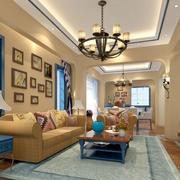 别墅客厅效果图片