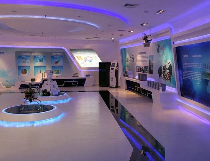 展现 公司 产品 文化 的 企业 展厅 装修设计 效果图