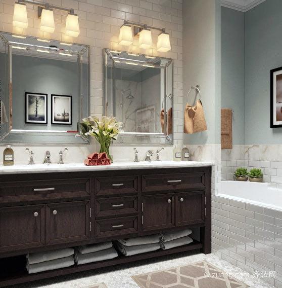 雍容华贵的大户型整体浴室装修效果图实例鉴赏