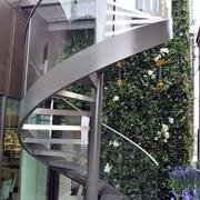 螺旋形不锈钢楼梯