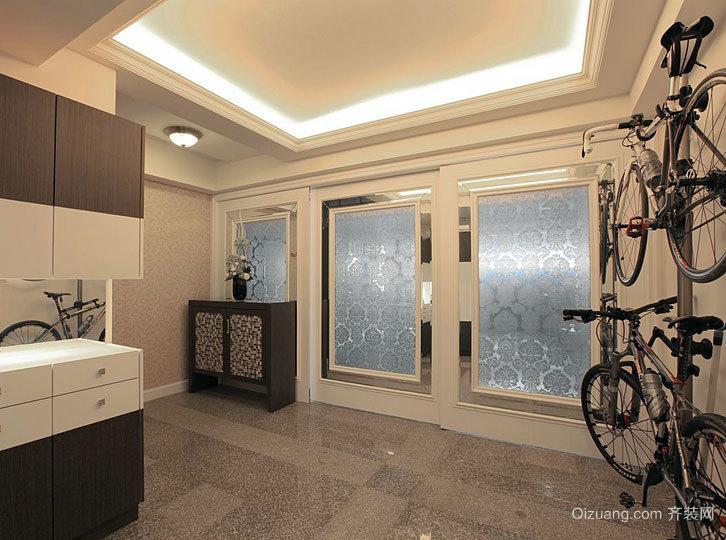分层塑造符合全家人要求的复式楼别墅装修效果图