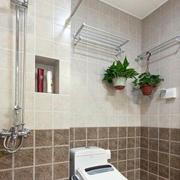 干净整洁卫生间装修