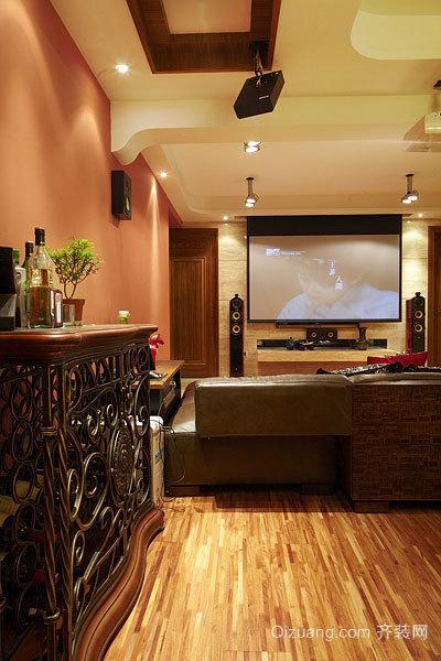 140平米东南亚风格异域风情的高层双拼别墅设计