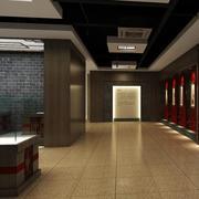 展厅地板砖装修效果图