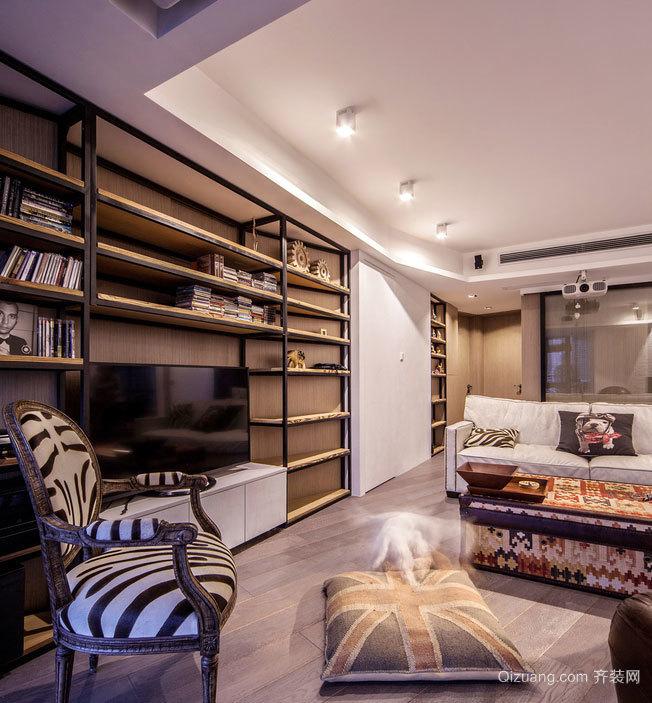 150平米后现代风格乡村风两居室房屋装修效果图