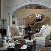 别墅客厅设计图片