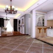 别墅开放式厨房装修