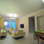 浅色调单身公寓设计