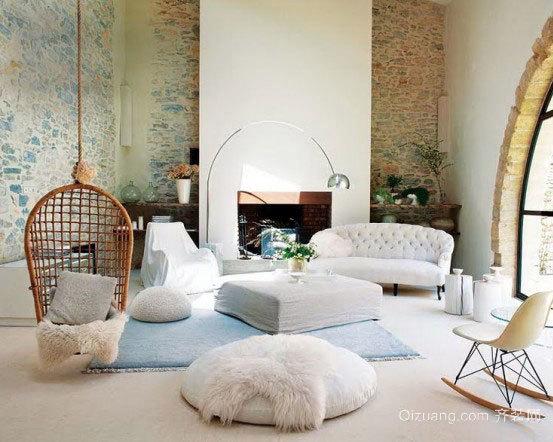 现代迷人独栋别墅室内设计效果图