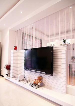 正确的选择:唯美电视墙造型隔断装修实例鉴赏