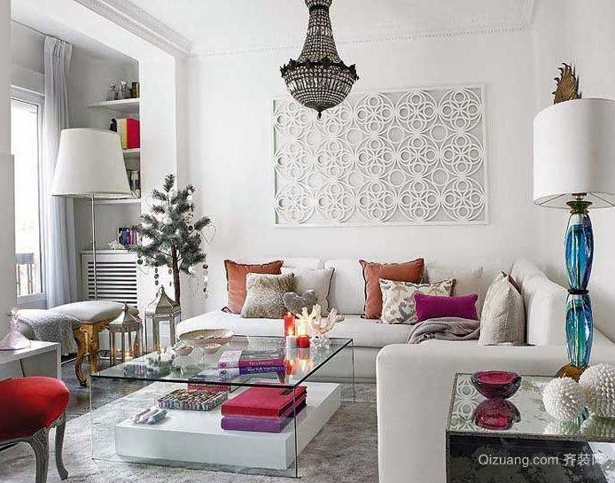 50平米小户型一室一厅一卫公寓装修效果图