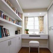 小书房木地板装修大全
