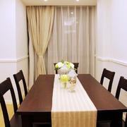 三室一厅餐桌装修