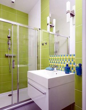 2015都市舒适的精致卫生间门装修效果图鉴赏
