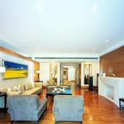 客厅地板设计效果图